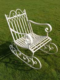 Vintage Style Antique White Distressed Metal Garden Rocking Chair Agha Rocking Chair Outdoor Interiors Magnificent Wrought Iron Chairs Vintage Garden Table Black Leather Chaise Lounge Modern Fniture Living Wood And Amazonin Home Kitchen Victorian Peacock Lawn Patio Set Best Images About On 15 Collection Of 4 French Folding Metal Teak Seat Bistro Amazoncom Bs Antique Bronze Scoll Ornate Cast In Worsbrough South Yorkshire Gumtree Surprising Bedroom House Winsome