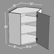 ana white build a 36 corner base easy reach kitchen cabinet
