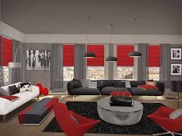 amazing stunning black and red living room ideas 54 on designer
