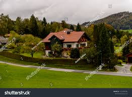 100 Houses In Nature Upper Austria Stock Photo Edit Now 1131939782