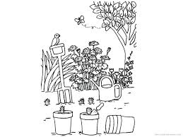 Secret Garden Coloring Pages Vegetable Kids Archives Tools Free Pdf Full Size