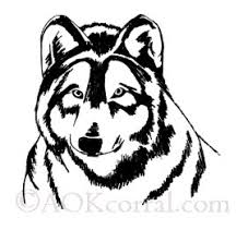 wolf patterns woodburning painting crafts