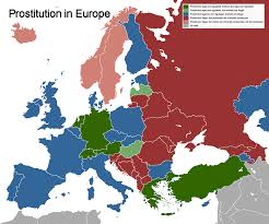 Prostitution In Europe (/r/mapporn) : Europe