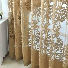 dunkle gold europa design schöne schlafzimmer vorhänge