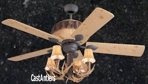 antler ceiling fan light contemporary with kit for tinterweb info