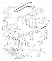 Craftsman Lt2000 Drive Belt Diagram by Transmission Kevlar Drive Belt Fits Some Husqvarna Lth120 Lth130