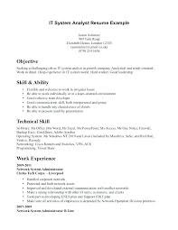 Resume Sample Skills And Abilities Examples Of Technical For