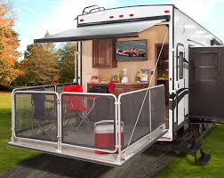 5th Wheels With 2 Bedrooms by Keystone Cougar Introduces Fifth Wheel With Party Deck U2013 Vogel