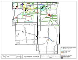 100 Truck Route Map Michiana Area Council Of Governments 2007 Inventory