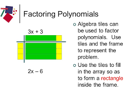 let s explore algebra tiles ppt