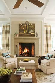 Southern Living Living Rooms by Decorating For Living Room With Fireplace