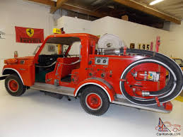 1980 Toyota Land Cruiser Fj56 Japanese Fire Truck Museum Piece 8k ...