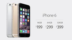 iPhone 6 starts at $199 iPhone 6 Plus at $299 on two year contracts
