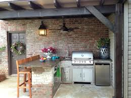 Outdoor Kitchen Designs With Fireplace Plans line Grills Lowes