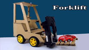 100 Toy Forklift Truck How To Make A Rc From Cardboard Diy A At