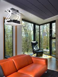 ceiling mounted projector houzz