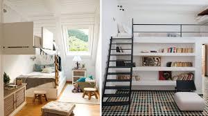100 Small Loft Decorating Ideas Beds Saving Furniture Interiors Pics Space Rooms