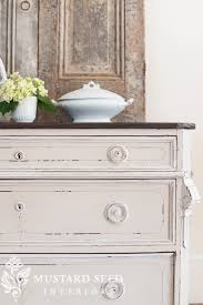 IN CASE YOU MISSED IT distressing painted furniture