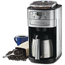 Cuisinart Automatic Coffeemaker Burr Grind And Brew 12 Cup Charcoal Water Filter 5 Oz