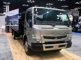 100 Work Truck Show Fuso Intros The FE180 The First Gaspowered Cabover On The Market