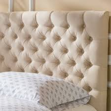Diamond Tufted Headboard With Crystal Buttons by Queen Headboards You U0027ll Love Wayfair