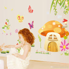 Wall Mural Decals Flowers by Kids U0026baby Room Nursery Cartoon Wall Decorative Decal Stickers