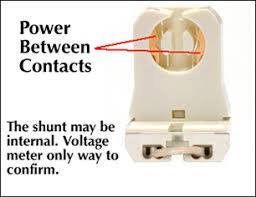 Non Shunted T8 Lamp Holder by Shunted Vs Non Shunted Sockets Thinklite Llc
