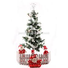 3ft Pre Lit Blue Christmas Tree by 4ft White Fibre Optic Christmas Tree Christmas Lights Decoration