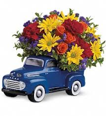 Telefloras 48 Ford Pickup Bouquet In Austin TX Mc Phail Florist Greenhouse