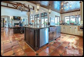 kitchens with saltillo tile floors rustico tile and