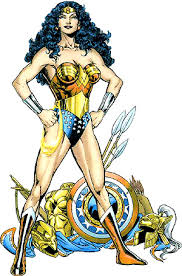 ABOVE Wonder Woman From Back Cover Of The Ultimate Guide To Amazon Princess
