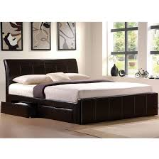 Black Leather Headboard King Size by Bedroom Amusing King Size Platform Bed Frame With Storage Design