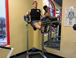 illpumpyouup com roman chair leg raise video