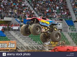 100 Spiderman Monster Truck Spider Man At The Jam Stock Photos Spider Man At The