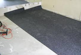 Rolled Rubber Mat Installation Athletic Flooring