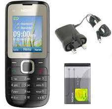 New Condition Nokia C2 00 Black Dual Sim