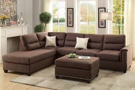 Small Corduroy Sectional Sofa by Amazon Com Poundex F7613 Bobkona Toffy Linen Like Left Or Right