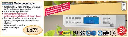 radio cuisine lidl lidl promotion onderbouwradio silvercrest radio de cuisine