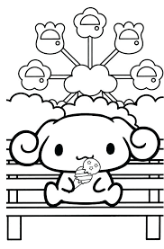 Kawaii Crush Colouring Pages Coloring Book Printable Small On Funny Animals Page Cute Dog