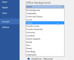 Another Way To Modify The Color And Background Is Go File Options Under Personalize Your Copy Of Microsoft Office Select You Want