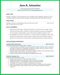Sample Resume For Lpn Clinical Experience