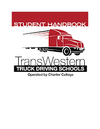 TransWestern Truck Driving School Catalog