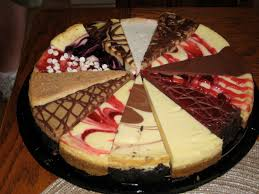 Different cheesecakes