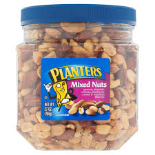 Planters Mixed Nuts 27 Oz Walmart