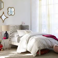Morocco Bed White