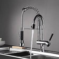 Commercial Pre Rinse Chrome Kitchen Faucet by Imlezon Commercial Wall Mount Kitchen Sink Faucet Brass