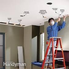 remodel recessed lighting installation 6093