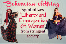 boho chic clothing for women influenced by bohemianism