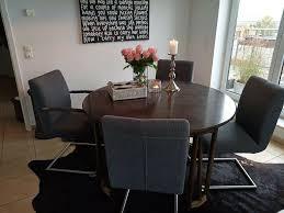esstisch tisch ausziehbar und 4 stühle mit rechnung