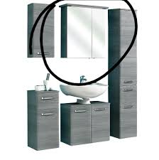 spiegelschrank alika graphit quer roller bzw pelipal